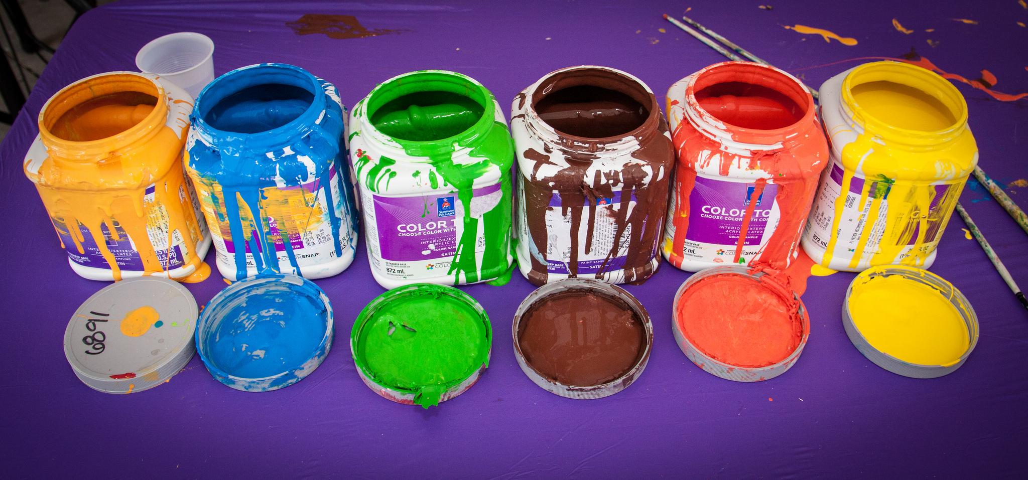 art festival paint